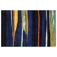 Momeni New Wave Alasdair Striped Wool Rug