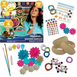 Disney's Moana Wooden Bangles Activity Set