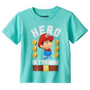 Toddler Boy Super Mario