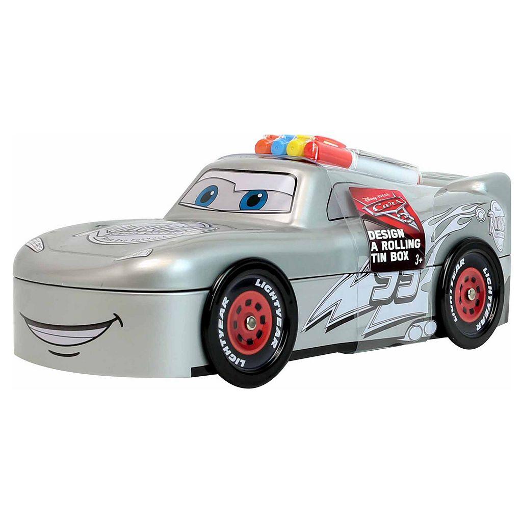 Disney / Pixar Cars 3 Lightning McQueen Rolling Tin Box