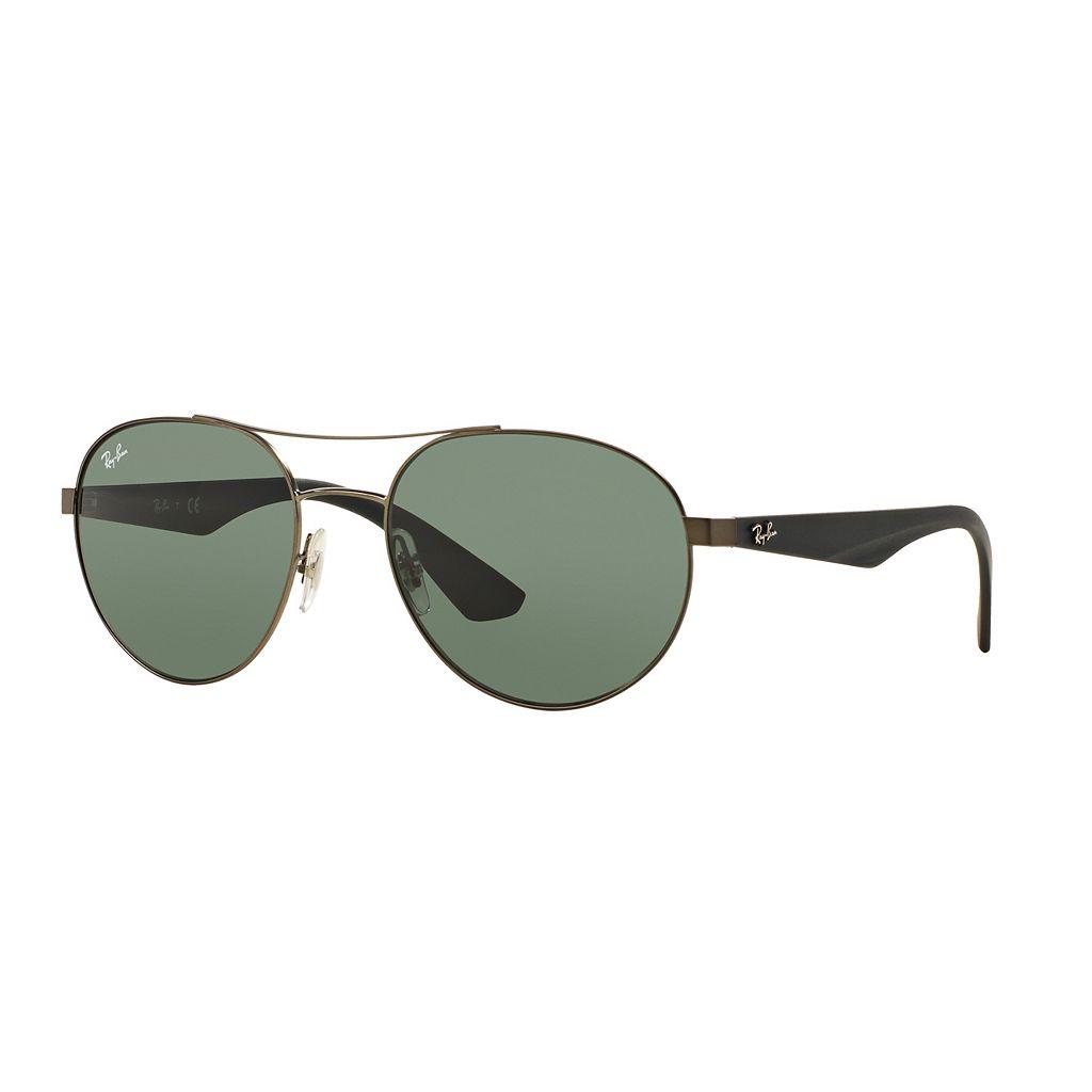 Ray-Ban Highstreet RB3536 55mm Aviator Sunglasses