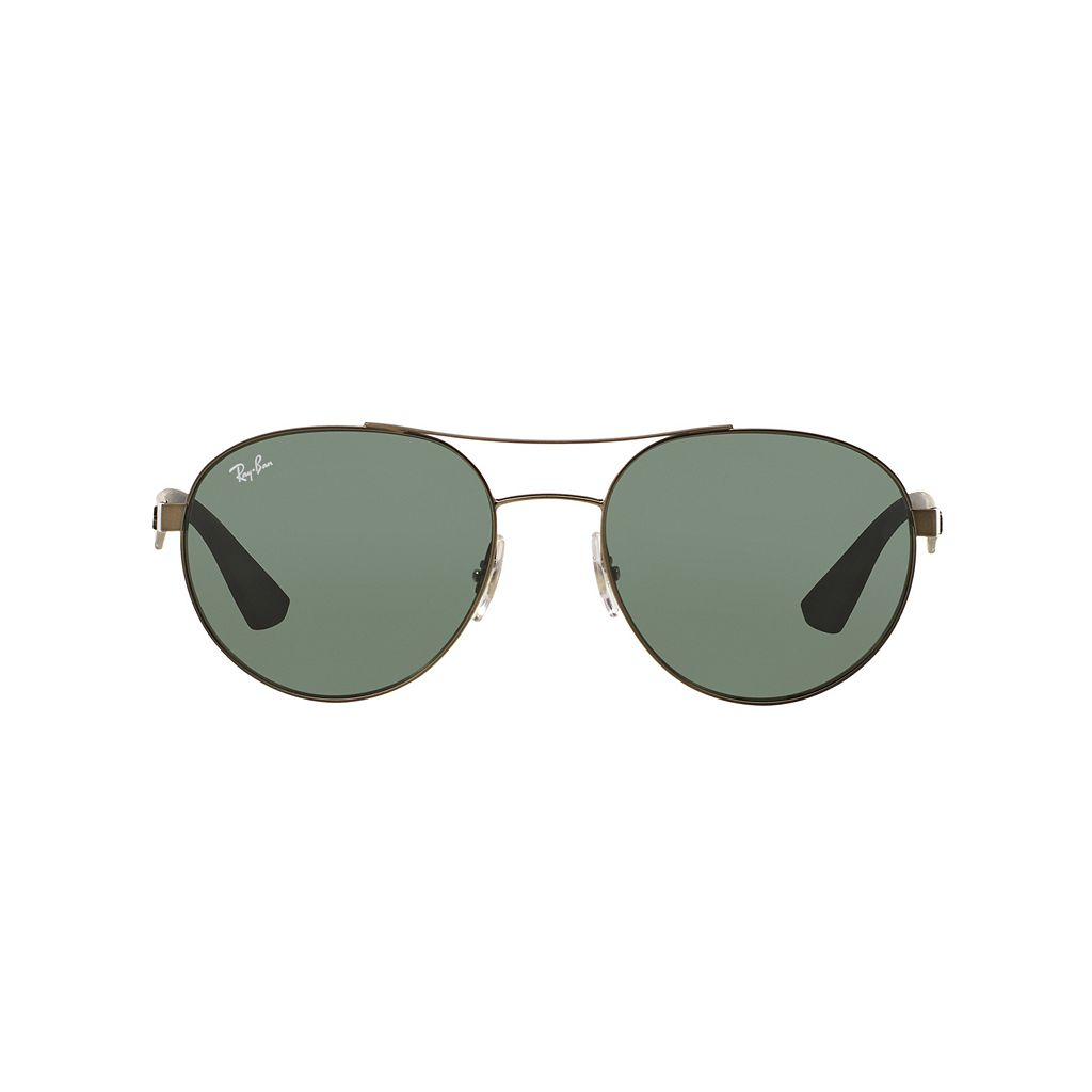Ray-Ban Highstreet RB3536 55mm Aviator Sunglasses