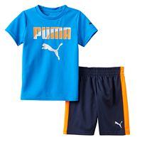 Baby Boy PUMA Graphic Performance Tee & Shorts Set