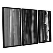 ArtWall A Way Out Framed Wall Art 3 pc Set