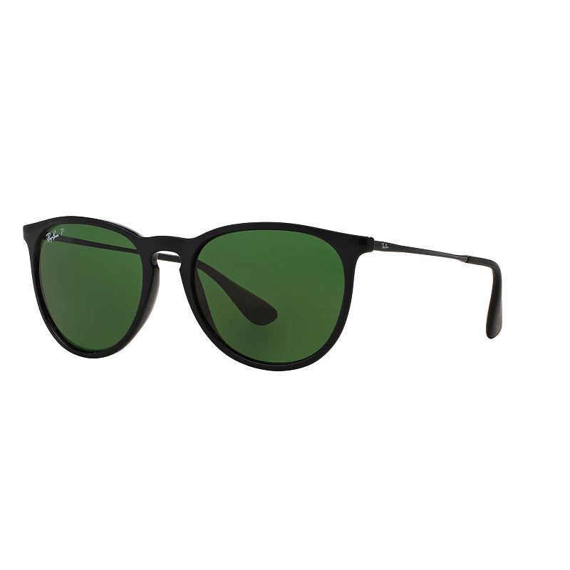 Ray-Ban Erika RB4171 54mm Pilot Polarized Sunglasses, Adult Unisex, Lt Beige -  RB417154-P