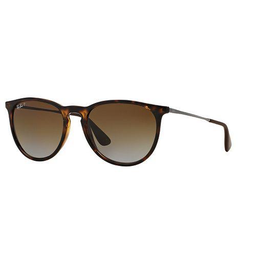 Ray-Ban Erika RB4171 54mm Pilot Polarized Sunglasses
