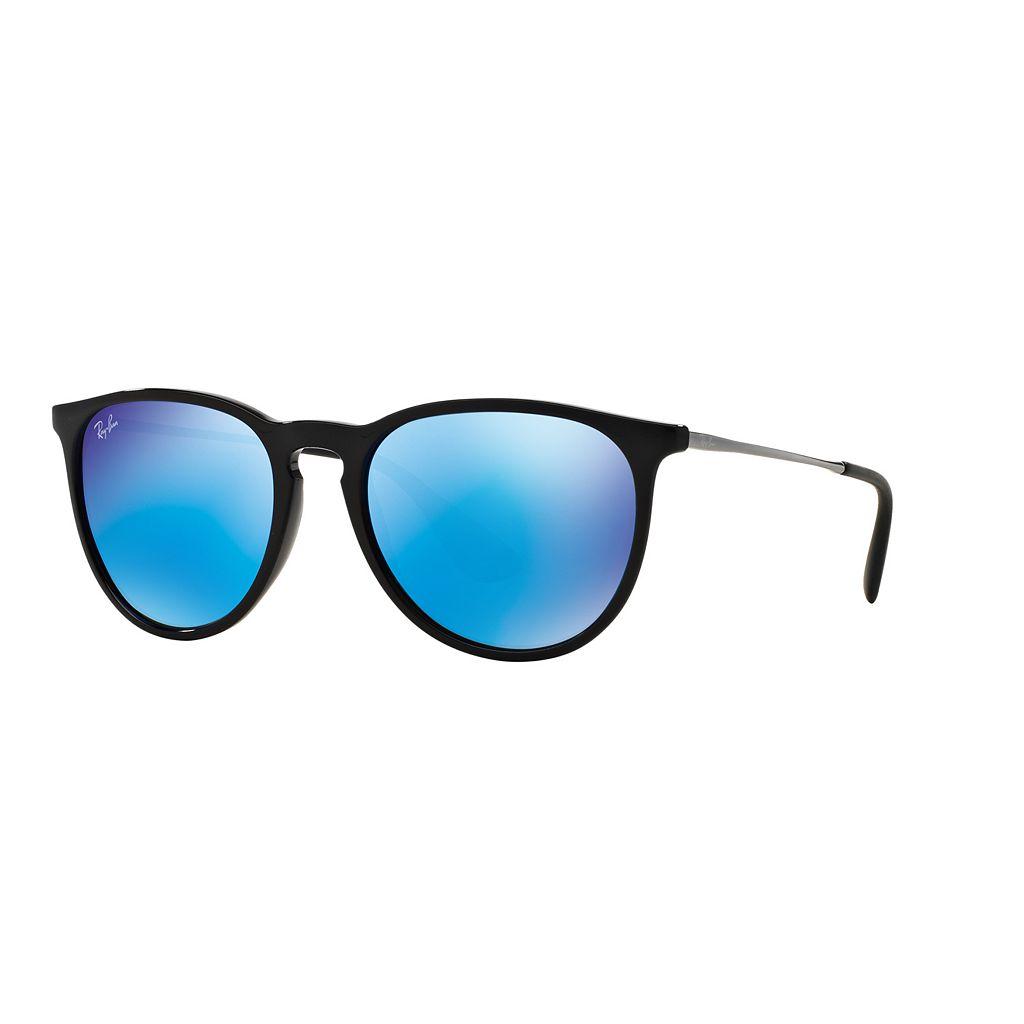 Ray-Ban Erika RB4171 54mm Pilot Mirror Sunglasses