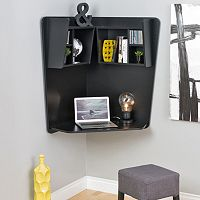 Prepac Floating Wall Corner Desk