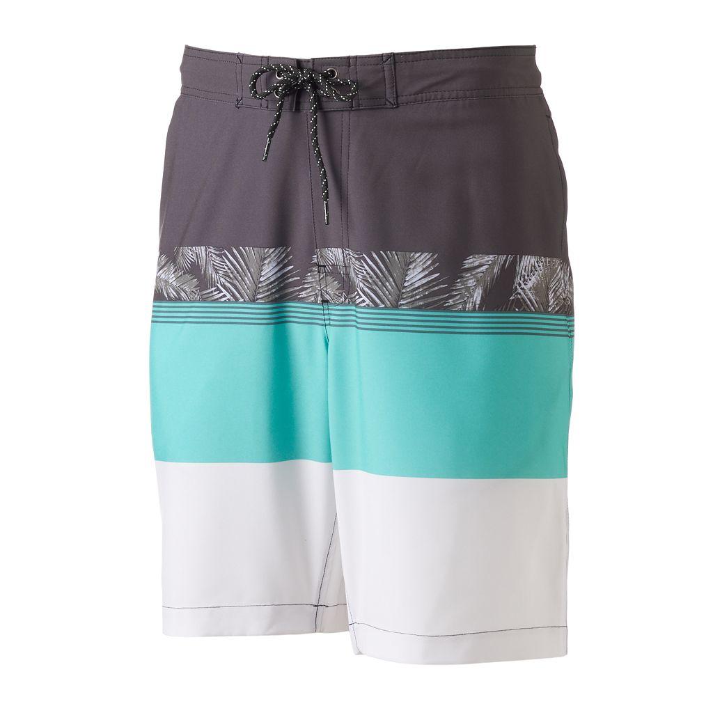 Men's SONOMA Goods for Life™ Colorblock Swim Trunks