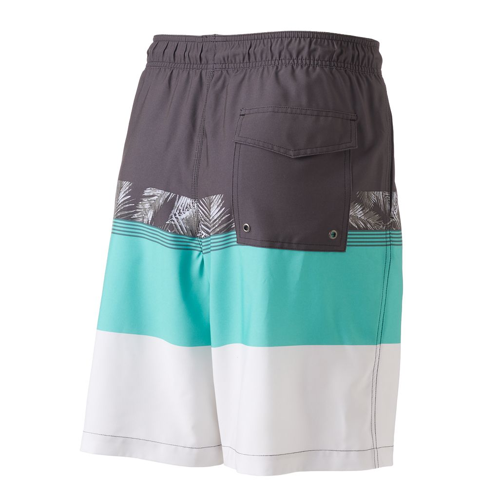 Men's SONOMA Goods for Life™ Colorblock Swim Trunks