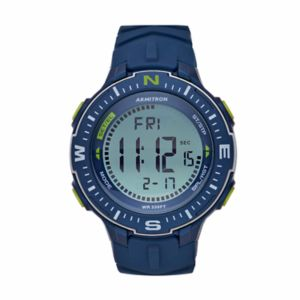 how to set time on armitron digital watch