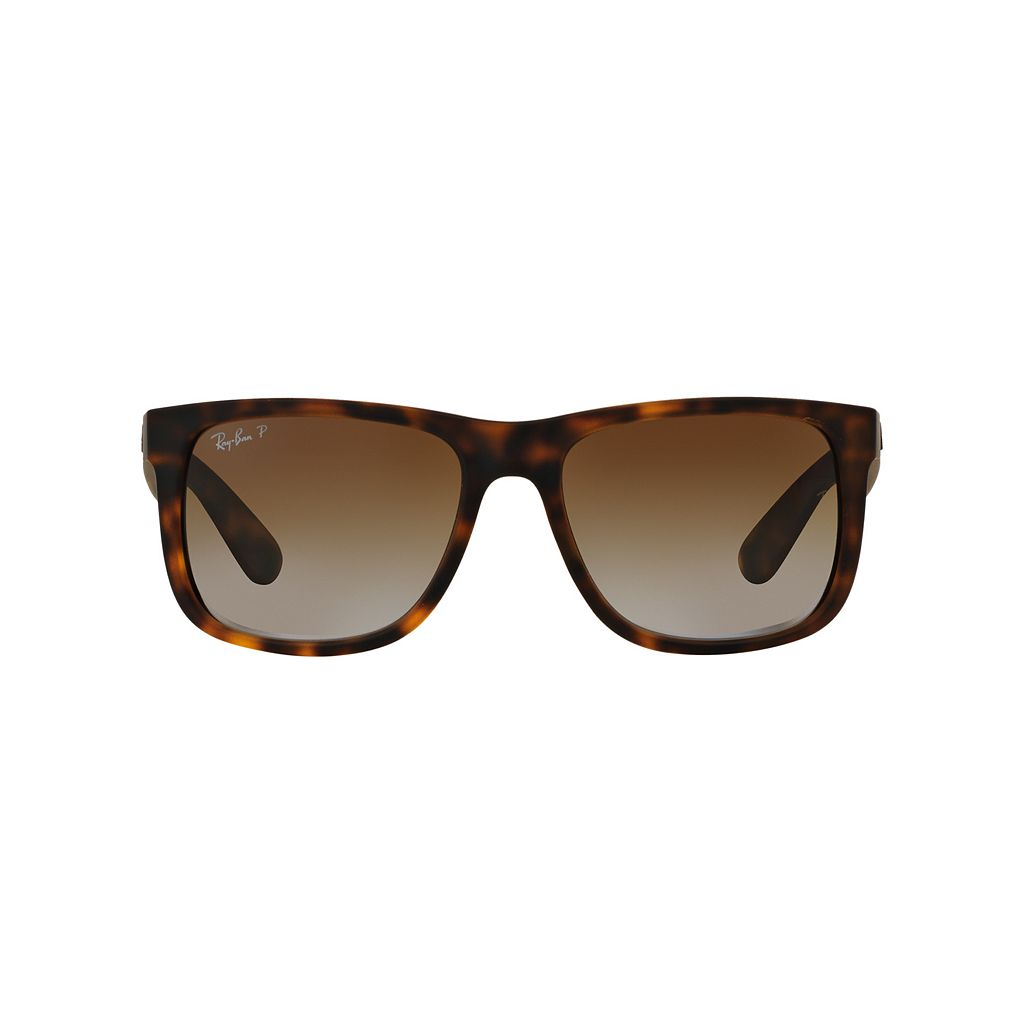 Ray-Ban Justin RB4165 55mm Rectangle Polarized Sunglasses