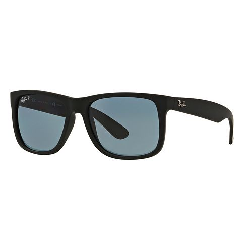 7241746b5 Ray-Ban Justin RB4165 55mm Rectangle Polarized Sunglasses