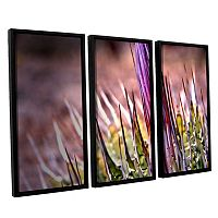 ArtWall Agave Framed Wall Art 3 pc Set