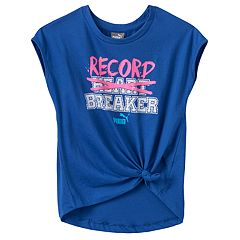 Girls 4-6x PUMA 'Record Breaker' Tee