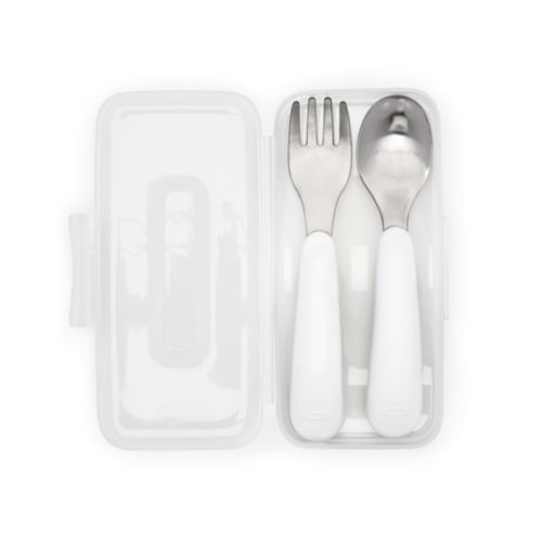 OXO Tot On-The-Go Fork & Spoon Set