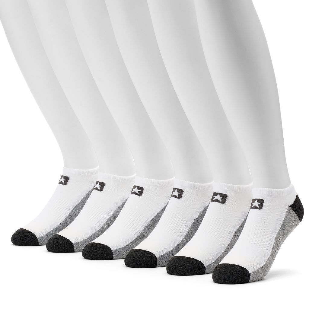 Men's Converse 6-pack Cushioned No-Show Socks