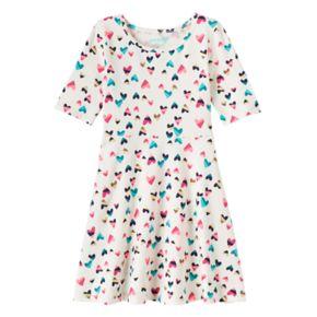 Girls 4-10 Jumping Beans® Print Skater Dress