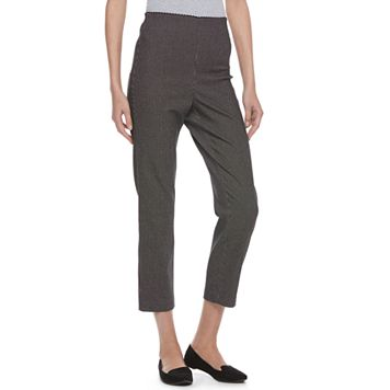 Women's ELLE™ Print Pull-On Ankle Dress Pants