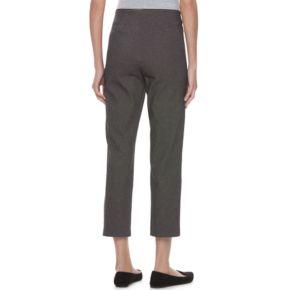Women's ELLE? Print Pull-On Ankle Dress Pants