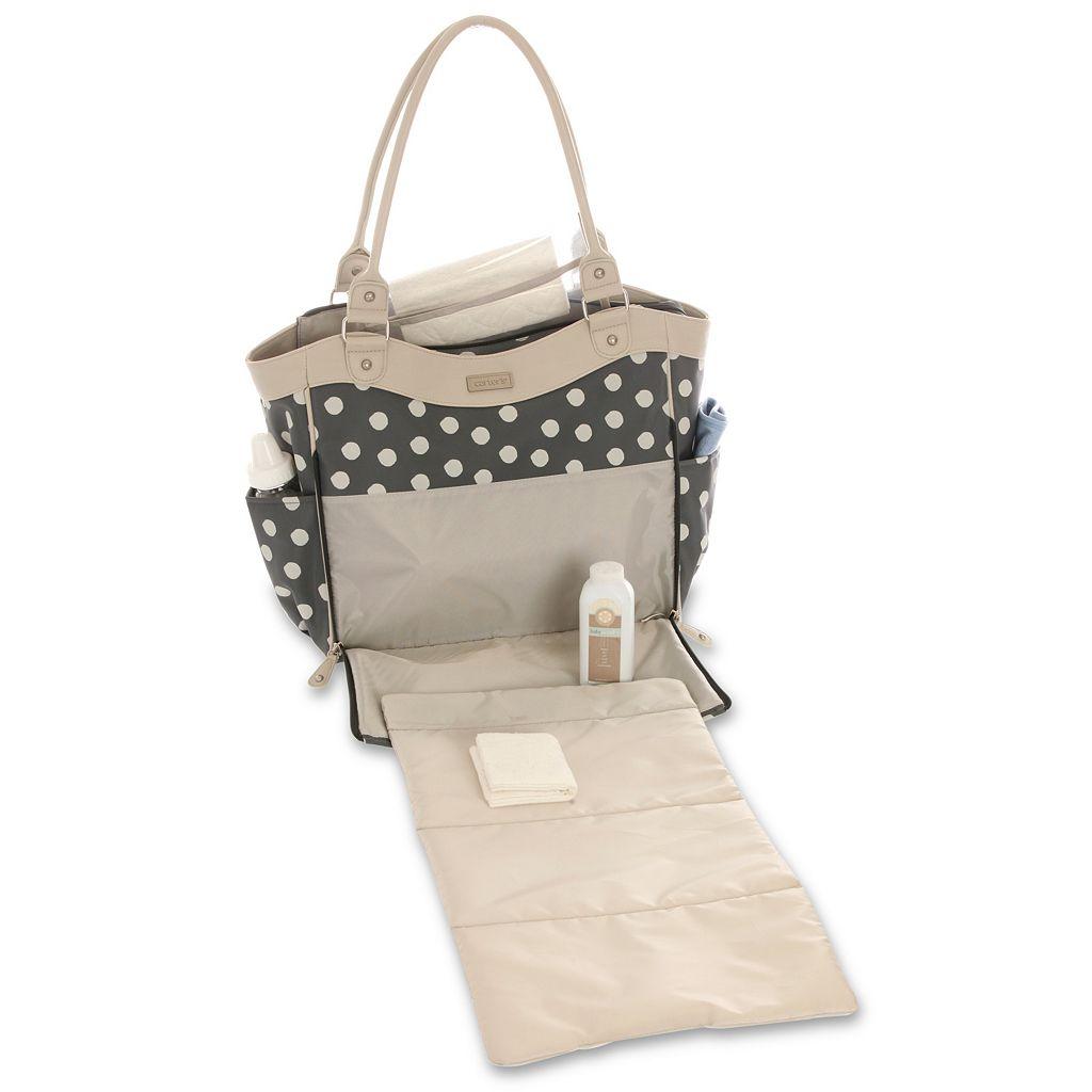 Carter's Drop Front Tote Diaper Bag