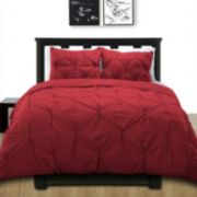 Cotton Pintuck Duvet Cover Set