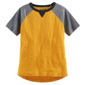 Boys 4-10 Jumping Beans® Slubbed Raglan Tee