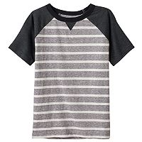 Boys 4-10 Jumping Beans® Striped Raglan Tee