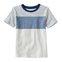 Boys 4-10 Jumping Beans® Striped, Colorblock & Space-Dyed Tee