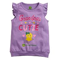 Toddler Girl John Deere Grandparent Graphic Tee