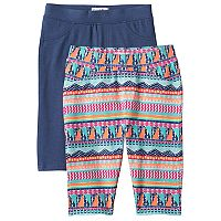Girls 4-6x Freestyle Revolution Print & Solid Bermuda Shorts Set