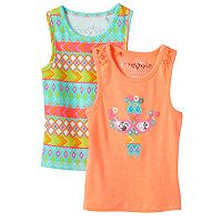 Girls 4-6x Freestyle Revolution Printed Tank Tops Set