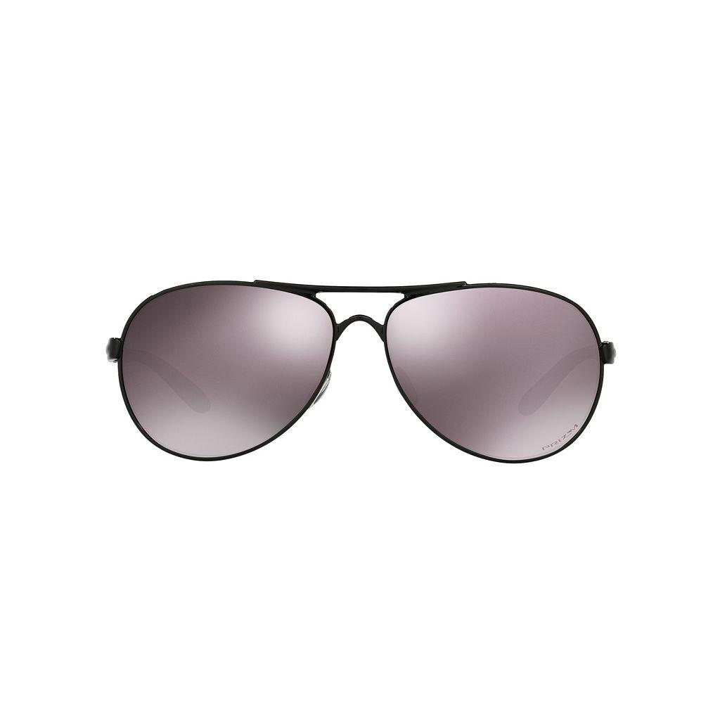 Oakley Feedback OO4079 59mm Aviator PRIZM Daily Polarized Sunglasses
