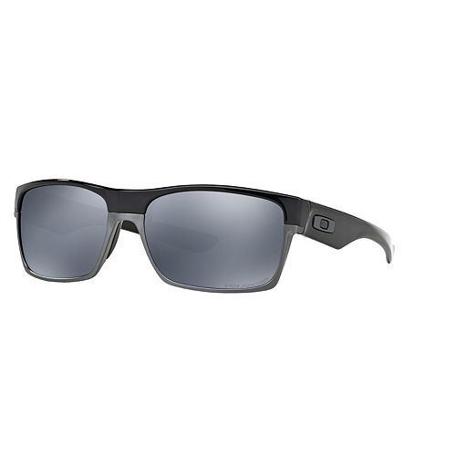 2e5a521d82 Oakley Twoface OO9189 60mm Rectangle Black Iridium Polarized Sunglasses