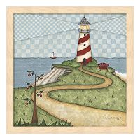 Lighthouse 1 Framed Wall Art