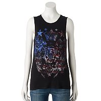 Women's Rock & Republic® Embellished Eagle Tank