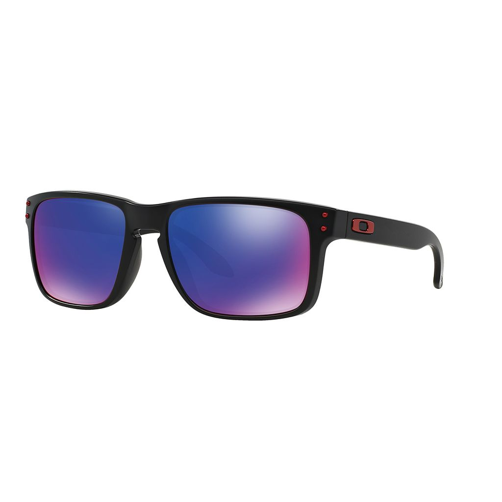 Oakley Holbrook OO9102 57mm Square Positive Red Iridium Sunglasses