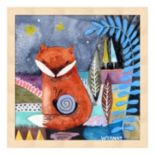 Nighty Nite Fox Framed Wall Art