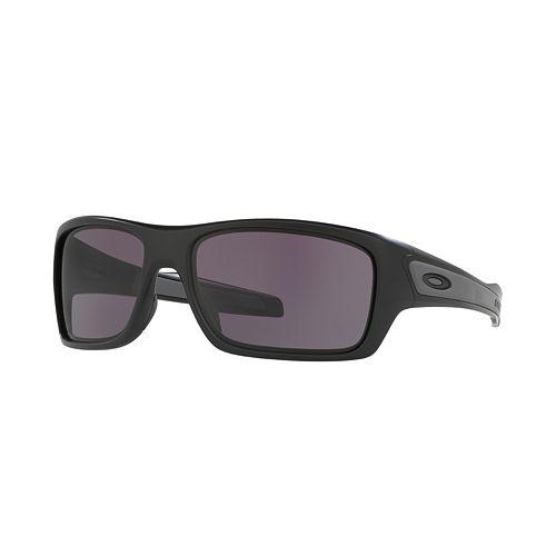 Oakley Turbine OO9263 65mm Rectangle Sunglasses