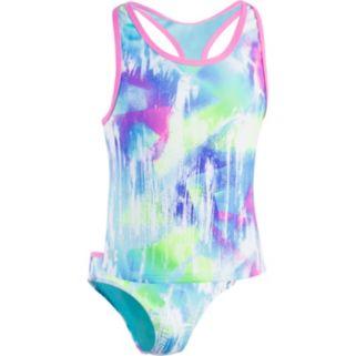 Girls 7-16 Under Armour Dusty Tankini Top & Bottoms Swimsuit Set