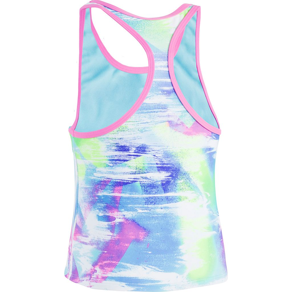Girls 7-16 Under Armour Dusty Tankini Top & Bottoms Swimsuit Set