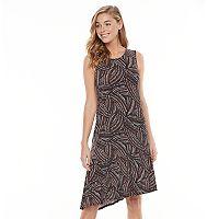 Women's Apt. 9® Asymmetrical-Hem Shift Dress
