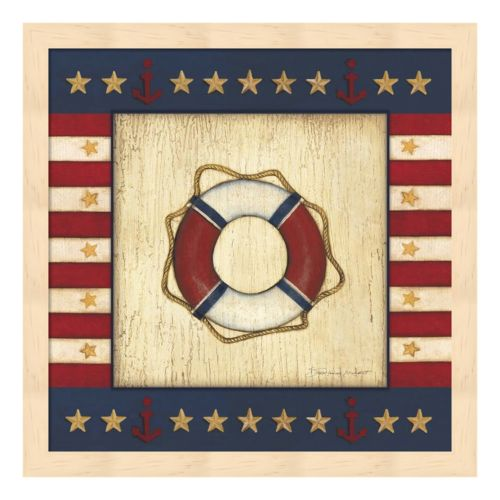 Patriotic Preserver Framed Wall Art