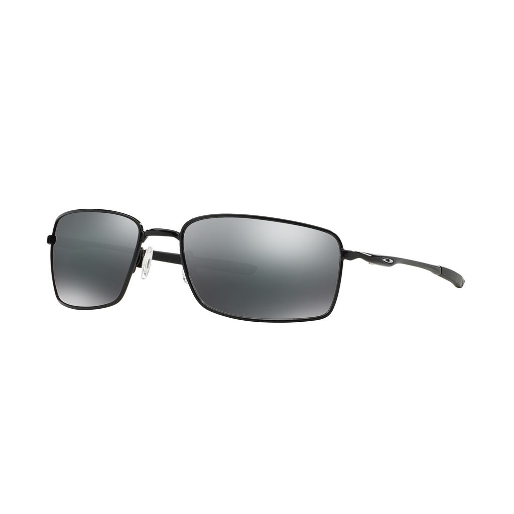 Oakley Square Wire OO4075 60mm Black Iridium Sunglasses