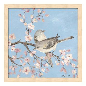 Blossom Birds II Framed Wall Art