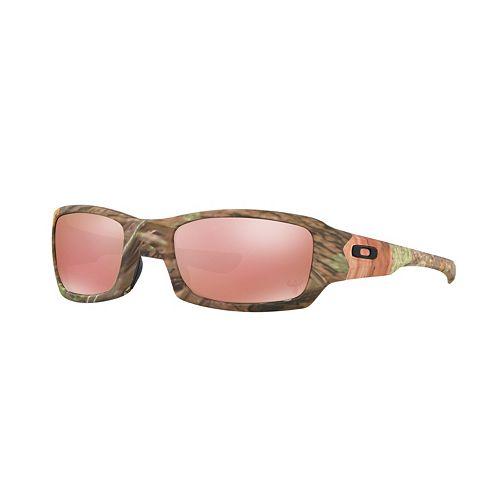 Oakley Fives Squared King's Camo Edition OO9238 54mm Black Iridium Sunglasses