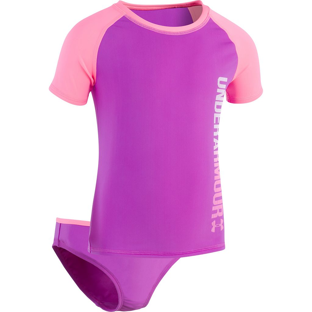 Girls 7-16 Under Armour Oasis Rashguard & Bottoms Swimsuit Set