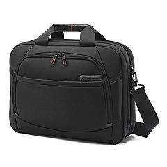 Samsonite Pro 4 DLX Toploader 2-Gusset Laptop Briefcase