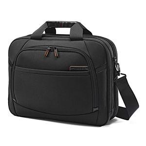 Samsonite Pro 4 DLX Toploader 2-Gusset Laptop Briefcase
