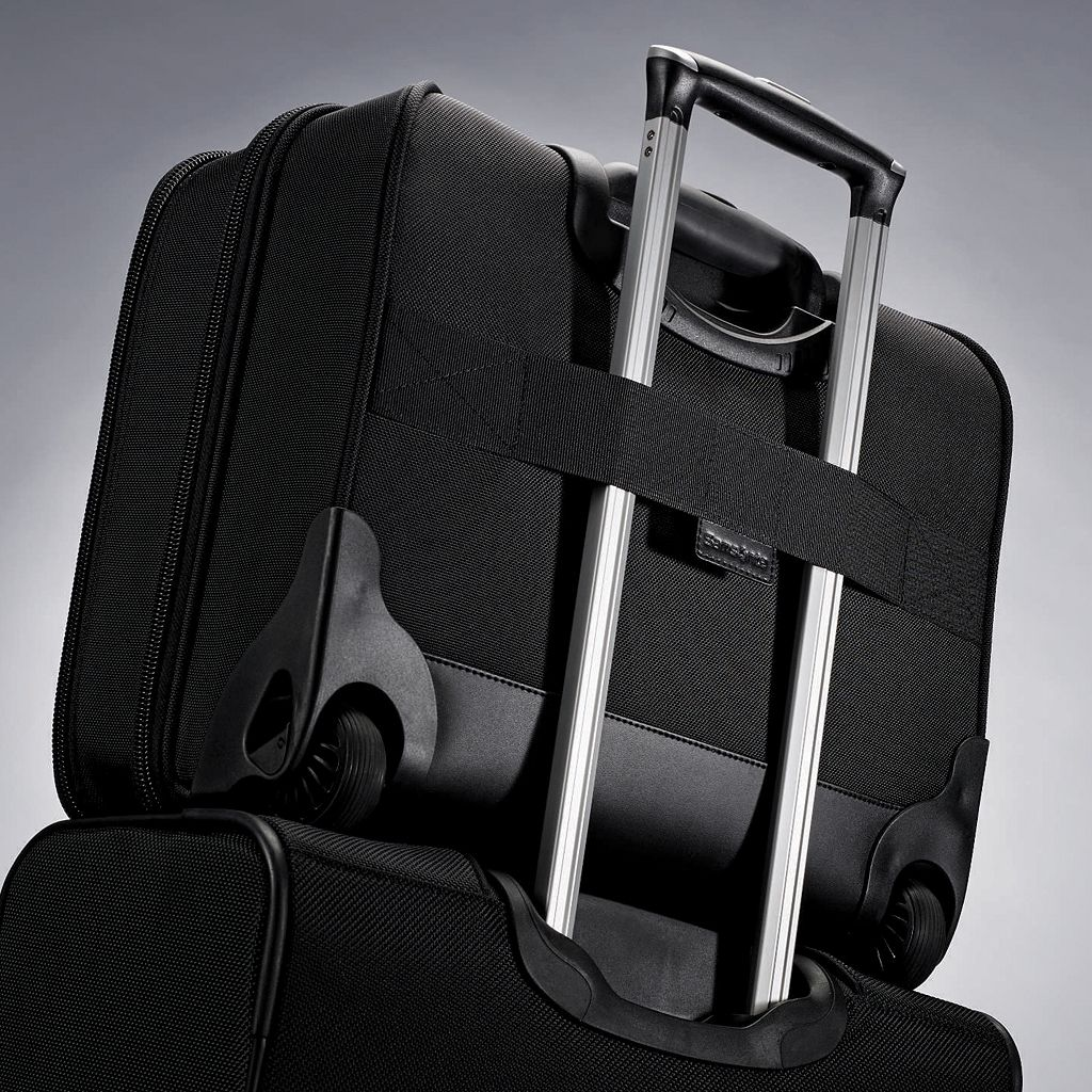 Samsonite Upright Mobile Office Perfect Fit Wheeled Laptop Briefcase